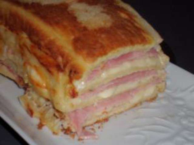 Recette Cake Fromage A Croque Monsieur