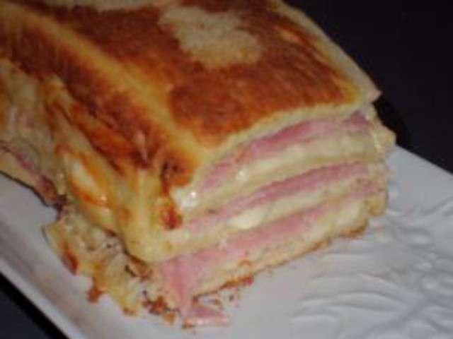 Cake Pain De Mie Jambon Fromage