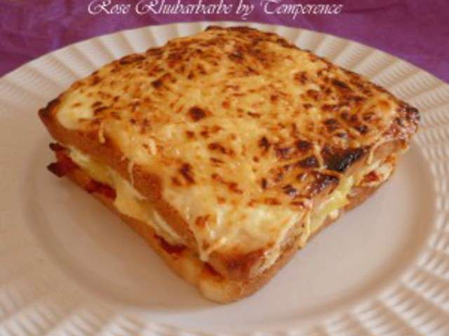 recettes de croque monsieur et chorizo. Black Bedroom Furniture Sets. Home Design Ideas