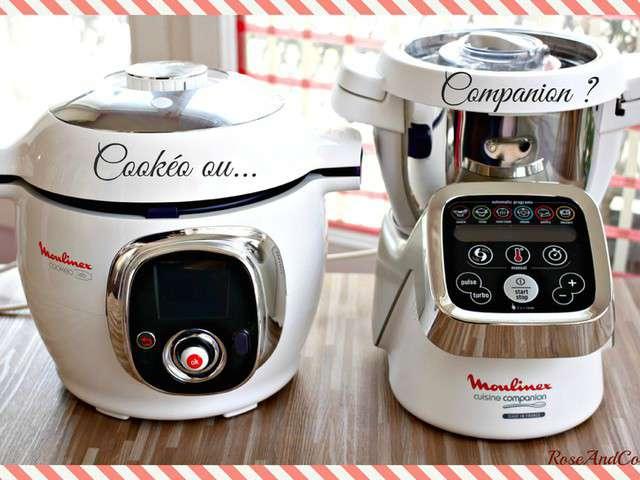 Recettes de cook o de roseandcook for Moulinex cuisine companion pas cher