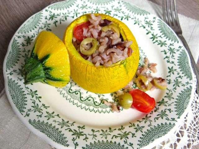 Recettes de tomates et courgettes 4 - Recette courgette farcie riz ...