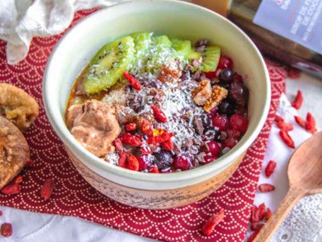 Recettes de porridge et cuisine sans gluten - Recettes cuisine sans gluten ...