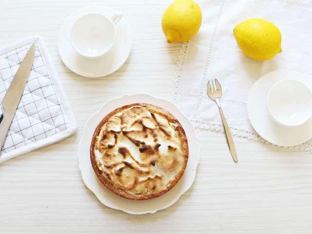 Recettes de tarte au citron meringu e facile - Tarte au citron meringuee facile et rapide ...