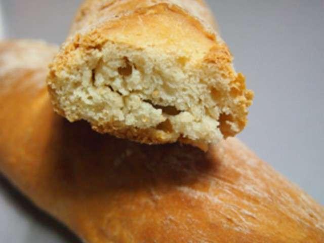 Recettes de baguette et machine pain for Baguettes de pain maison