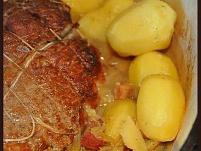 Les meilleures recettes de r ti et r ti de veau - Cuisiner le veau en cocotte ...