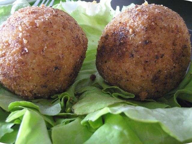 Les meilleures recettes d 39 arancini - Cuisine sicilienne arancini ...