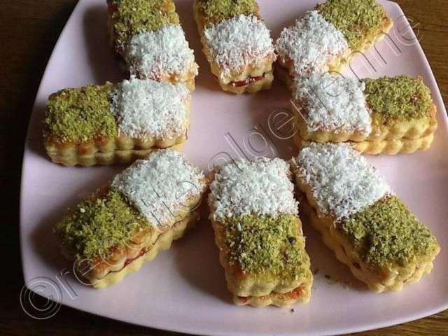 Les meilleures recettes de sabl s de saloua - Recette sable confiture maizena ...