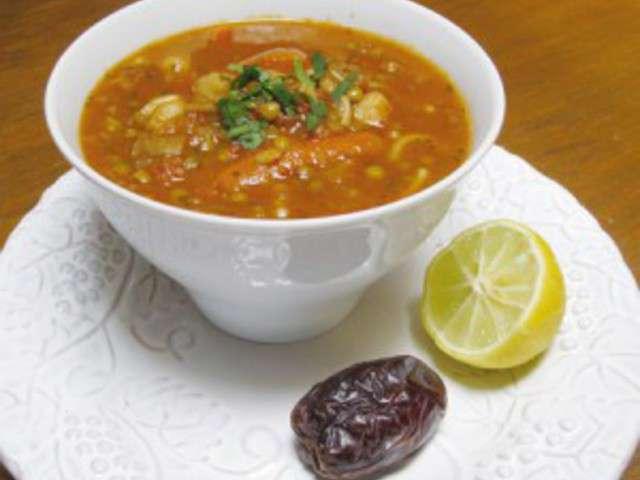Recettes de soupe de lentilles de sanafa recettes de for Cuisine orientale