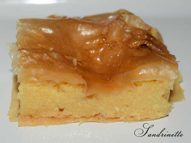 spécialité grecque dessert