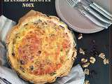 Quiche Epinards Ricotta Noix et Cranberries