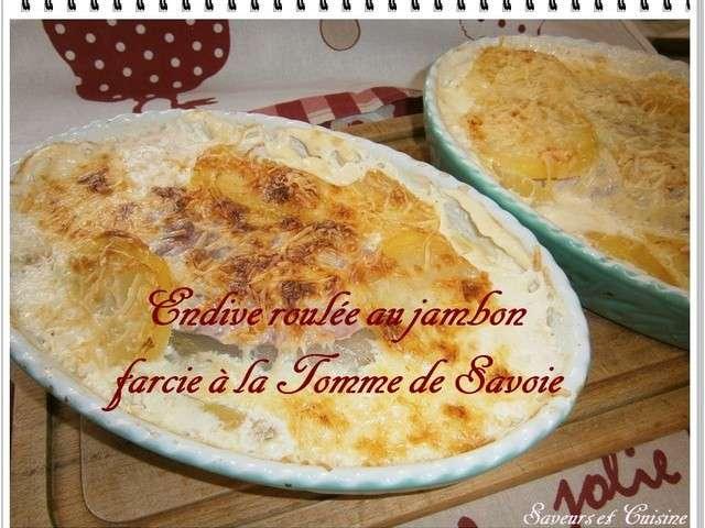 Recettes de tomme de savoie et endives - Cuisiner endives au jambon ...