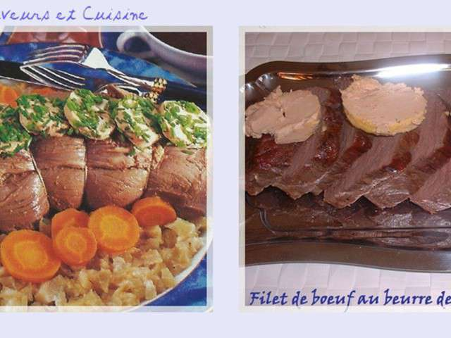 recettes de filet de boeuf et foie gras. Black Bedroom Furniture Sets. Home Design Ideas
