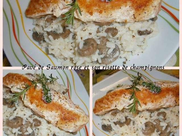 Recettes de pav de saumon et risotto - Comment cuisiner des paves de saumon ...