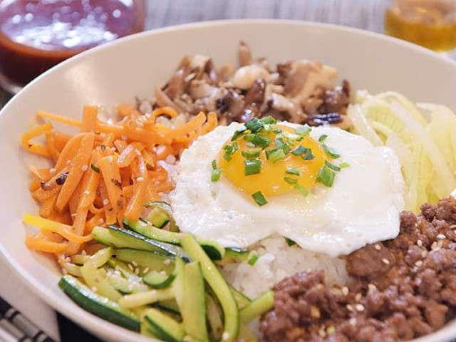 Recettes de huile de sesame et oignons for Cuisine coreenne