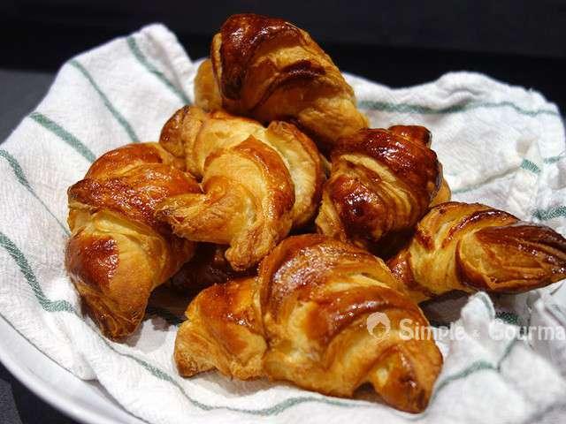 Recettes de croissants et beurre - Recette croissant au beurre ...