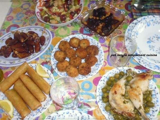 Recettes de menu de simplement cuisine - Blog de cuisine orientale pour le ramadan ...