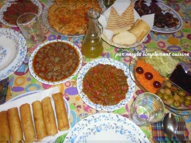 Recettes de maroc et menu - Blog de cuisine orientale pour le ramadan ...