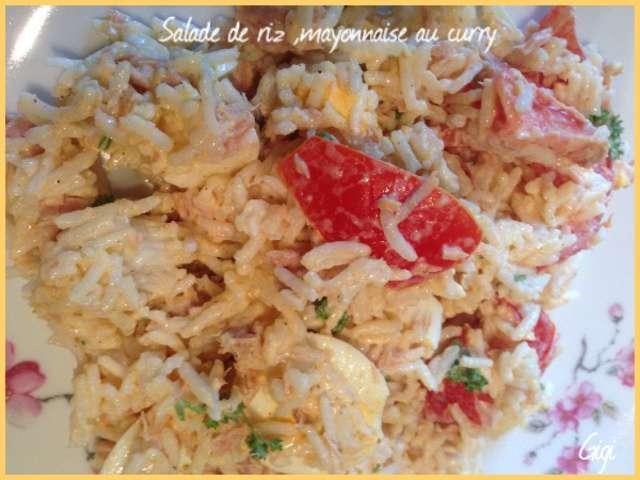 Recettes de mayonnaise et riz - Recette mayonnaise au mixeur ...