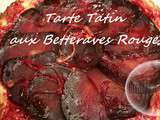 Tarte Tatin aux Betteraves Rouges ( Thermo