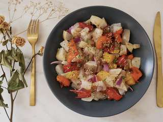 Inspiration salade #9 * Navet – orange