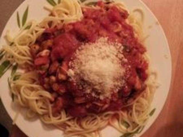 Les meilleures recettes de spaghetti aux fruits de mer - Spaghetti aux fruits de mer ...