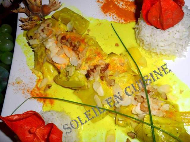 Recettes de pav de saumon et cr mes for Soleil en cuisine