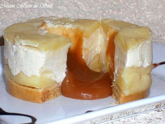 Les meilleures recettes d 39 entremets et pomme - Recette caramel beurre sale breton ...