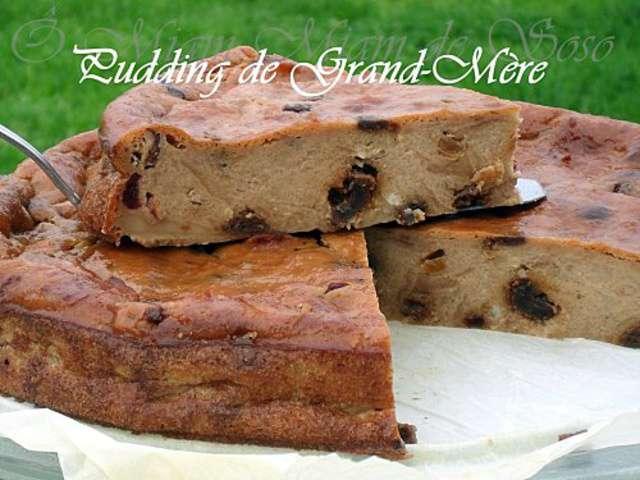 Pudding de grand - Recette merveilles de grand mere ...