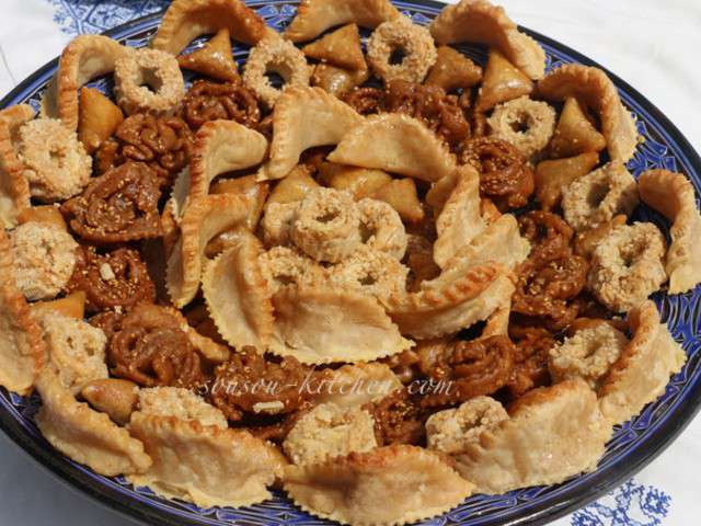 Recettes de p tisserie marocaine for Cuisine patisserie