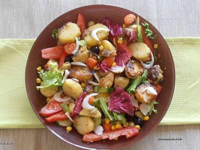 les meilleures recettes de salade de pomme de terre et alg rie. Black Bedroom Furniture Sets. Home Design Ideas