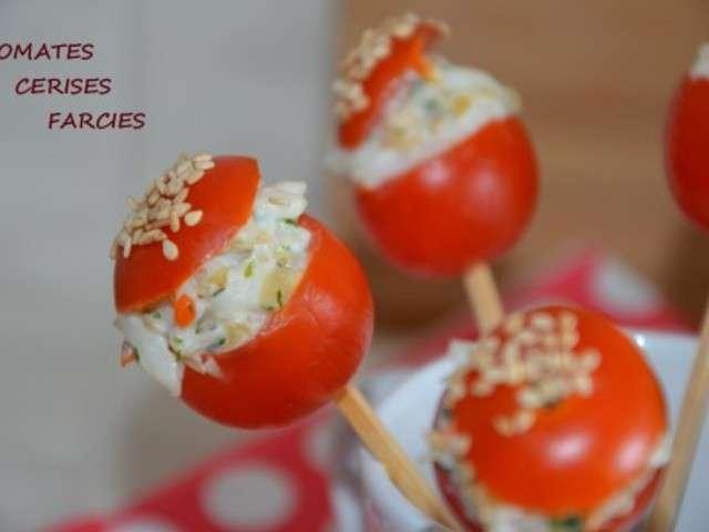 Les meilleures recettes d 39 amuse bouche et tomates - Petites cuilleres aperitives pour apero sympa ...