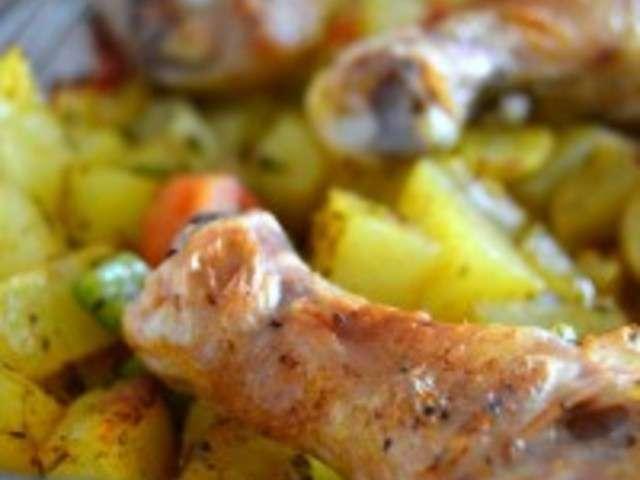 Recettes de pilons de poulet et cuisine au four - Cuisine poulet au four ...