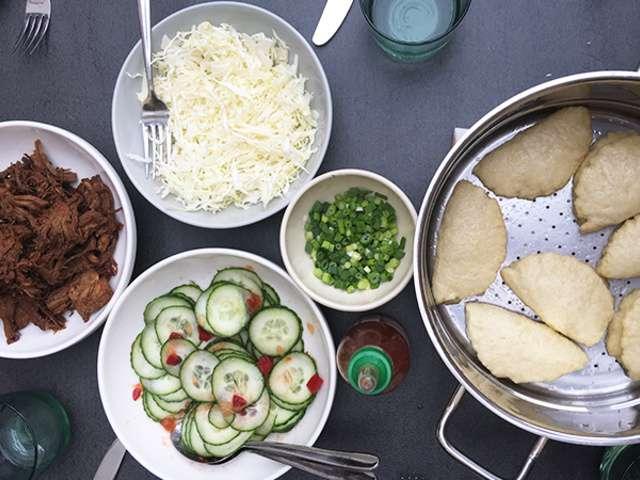 Recettes de buns et cuisine la vapeur for Cuisine a la vapeur