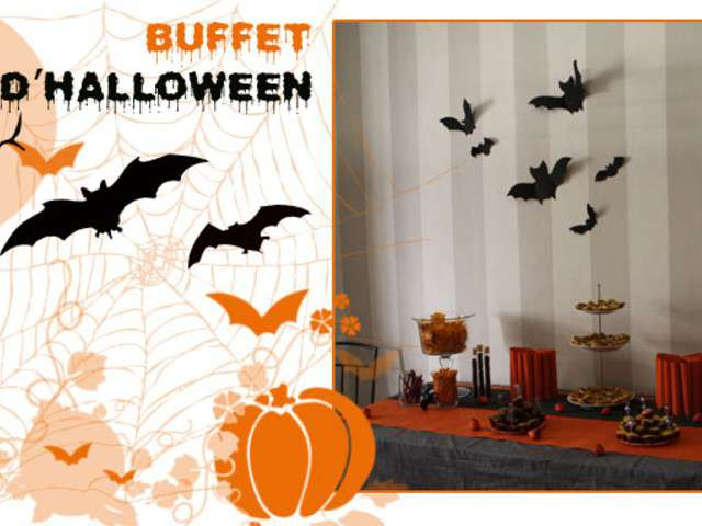 recettes de buffet et halloween. Black Bedroom Furniture Sets. Home Design Ideas