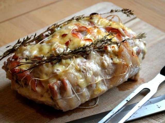 Recettes de roti de porc orloff - Roti de porc orloff maison ...
