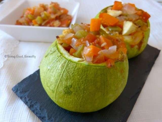 Recettes de courgettes farcies de tasting good naturally recettes bio v g tariennes et - Quand semer les courgettes ...