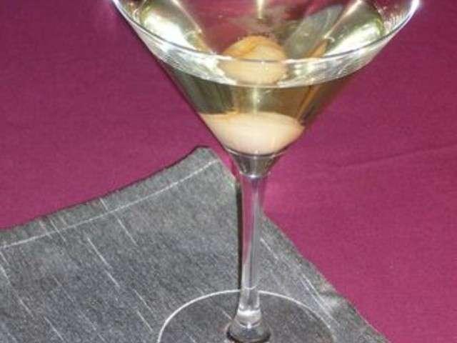 Recettes de champagne et litchi for Cocktail au champagne