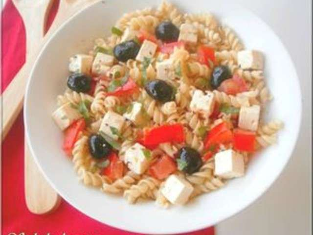 les meilleures recettes de salade de p 226 tes et feta