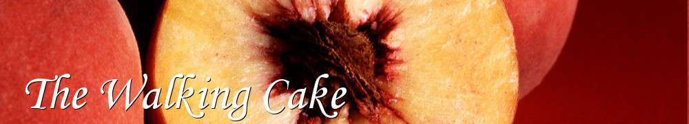 Recettes de The Walking Cake
