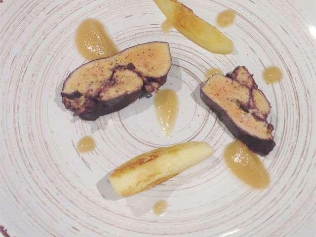 recettes de foie gras et poire. Black Bedroom Furniture Sets. Home Design Ideas