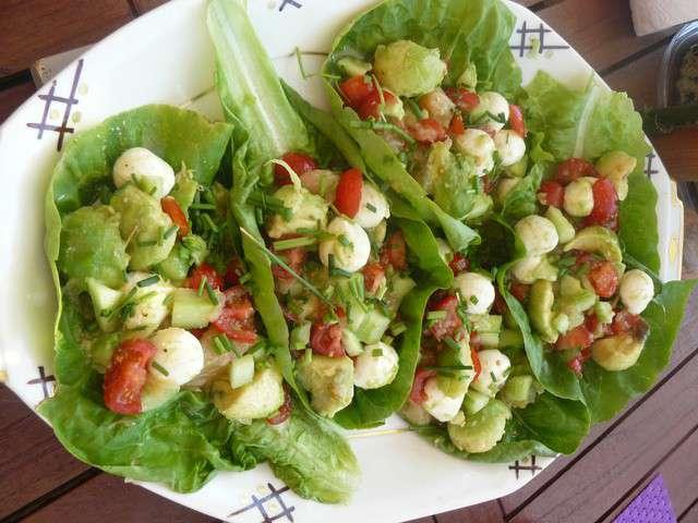 Recettes de salade fraiche et t - Recette fraiche pour l ete ...