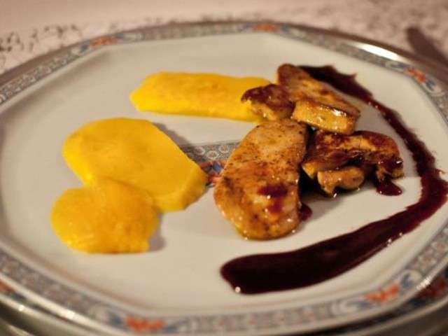 recettes de mangue et foie gras 4. Black Bedroom Furniture Sets. Home Design Ideas