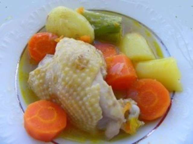 recettes de pot au feu et poulet