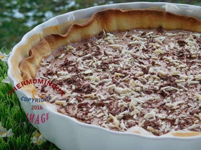 Recettes de tarte aux chocolat - Recette tarte aux chocolat ...
