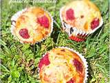 Muffins pistache-framboise au Thermomix