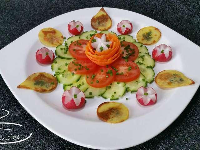 Recettes de surimi et pomme de terre - Entree crudites originale ...
