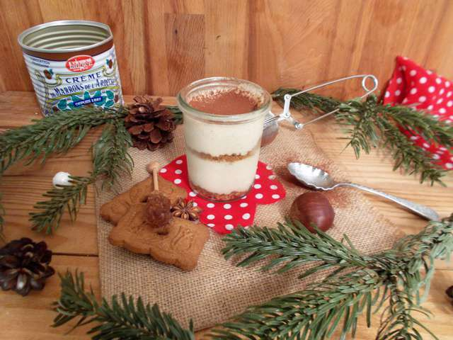 Recettes de tiramisu et marron - Tiramisu a la creme de marron ...