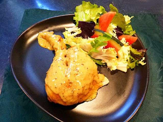 Recettes de poulet au four et moutarde - Cuisine poulet au four ...