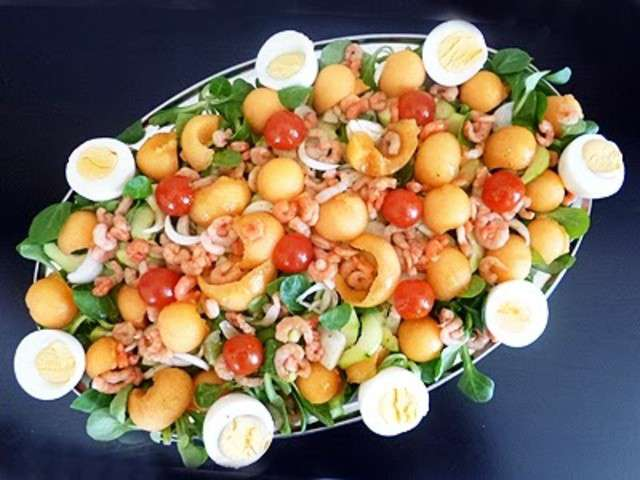salade legere et vitaminee