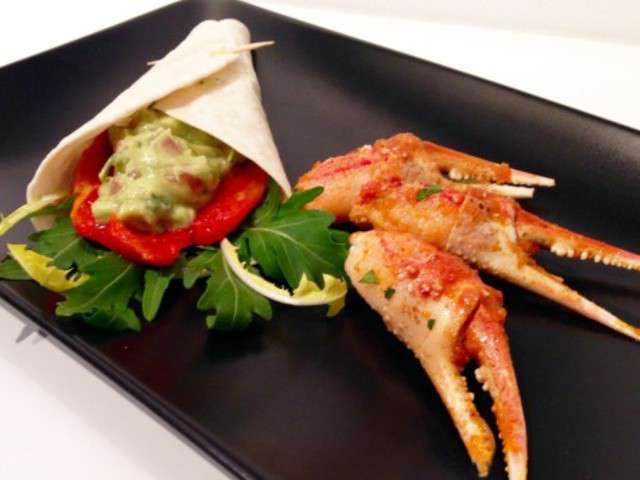 recettes de crabe et avocat 2. Black Bedroom Furniture Sets. Home Design Ideas
